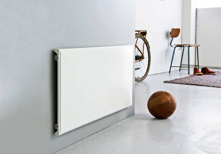 Hudevad flat panel radiators. Always on the Ball