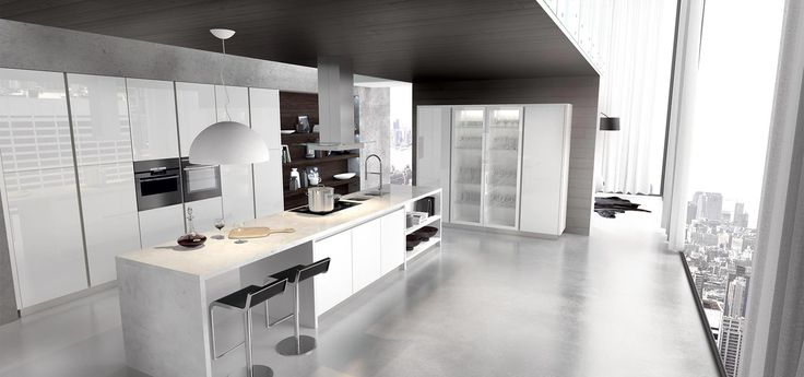 Glass kitchen from Arredo3
