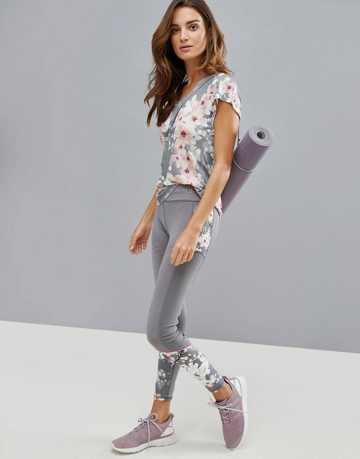 Ted Baker Fit to A T Blossom Legging with Mesh Panels   89 GBP  