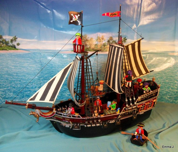 pirate ships pictures | Playmobil Pirate Ship - Imgur