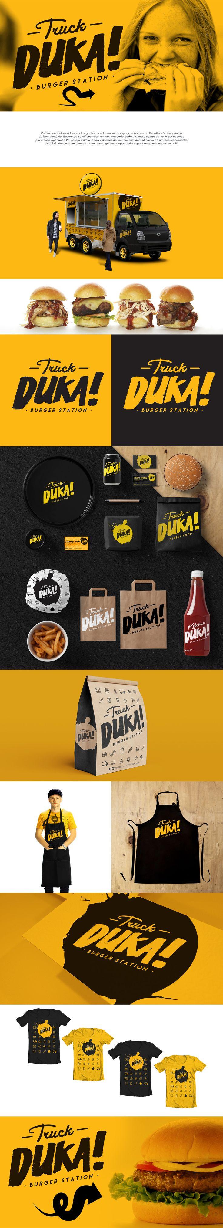 Duka Burger Station Branding                                                                                                                                                                                 Mais                                                                                                                                                                                 Mais