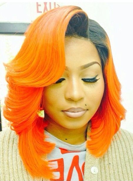 Burnt orange short hairstyles best short hair styles 25 shiny orange hair color ideas from red to burnt of sisterspd