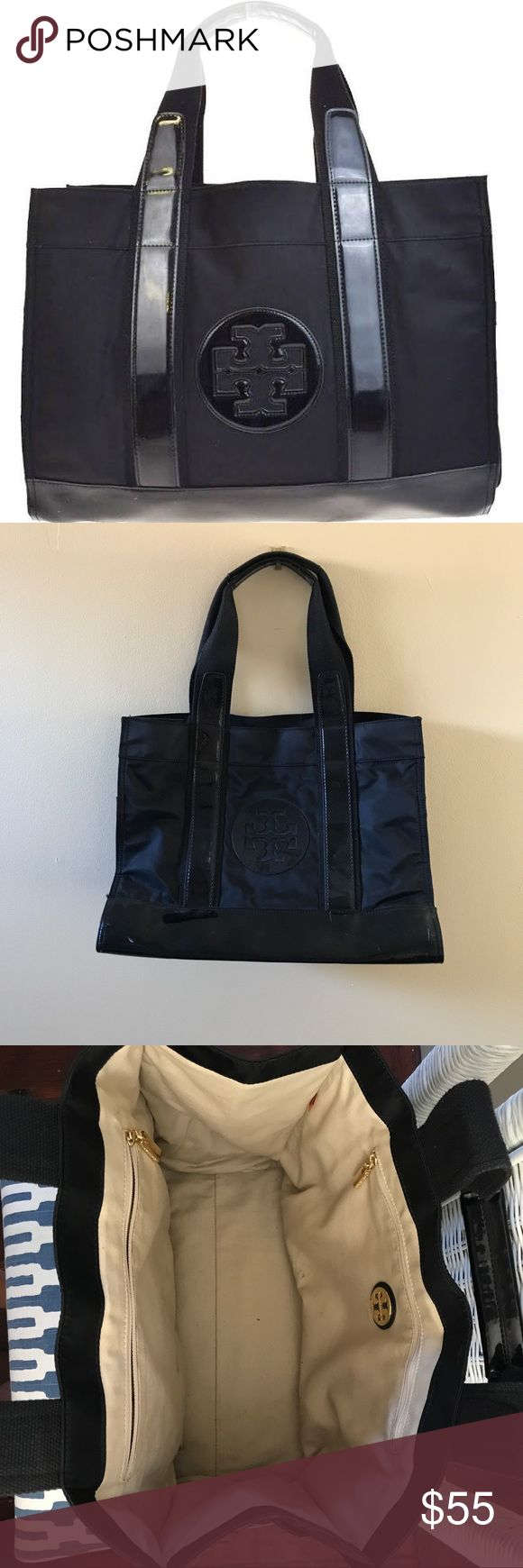 Tory Burch Small Ella tote bag Small nylon totes bag in great condition Tory Burch Bags Totes