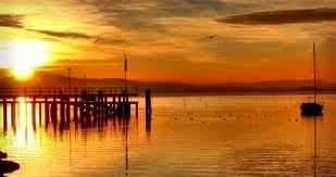 Tramonto lago trasimeno orvieto B&B vacanze umbria