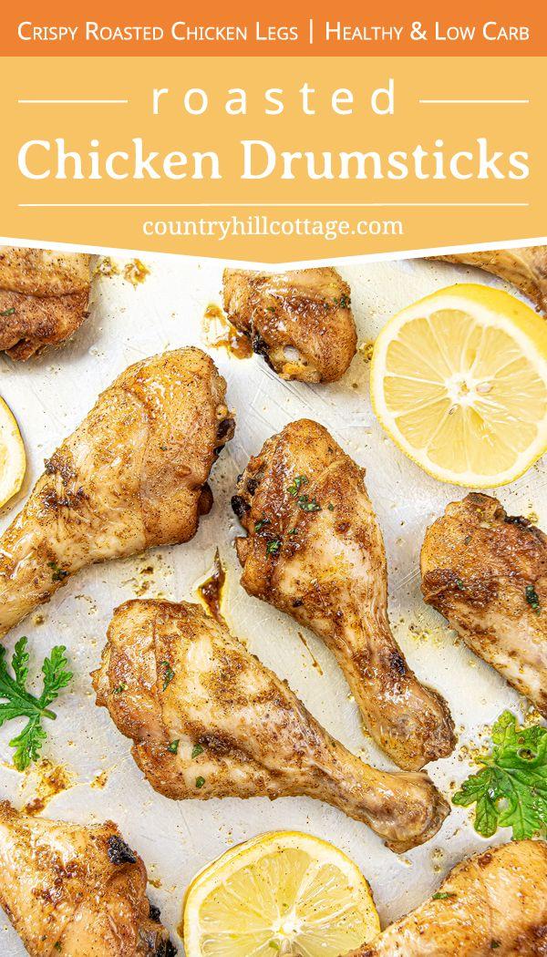 Baked Chicken Drumsticks Recipe Easy Healthy Super Crispy Recipe Chicken Drumstick Recipes Drumstick Recipes Chicken Leg Recipes