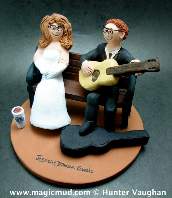 guitar player wedding cake topper 36 best guitarist s wedding cake toppers images on 15015