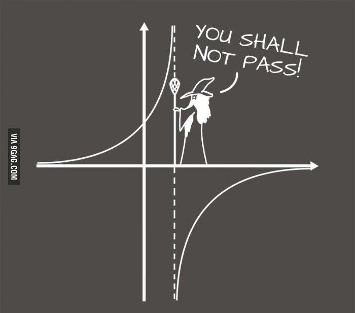 Ha, ha. Math humor... This made me laugh especially since I am doing a billion functions right now .... Haha.