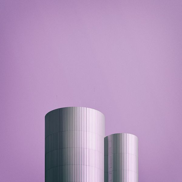 Nick Frank, Photographer - Architecture - Colors - Minimal - Purple