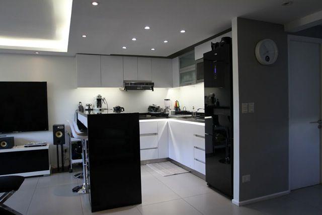 Kitchen Black  LED Lighting