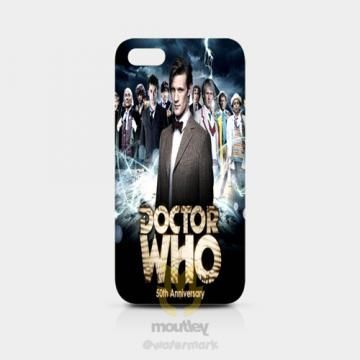 Doctor Who 50th Anniversary IPhone 5/5S Hardcase by moutley for $14.00