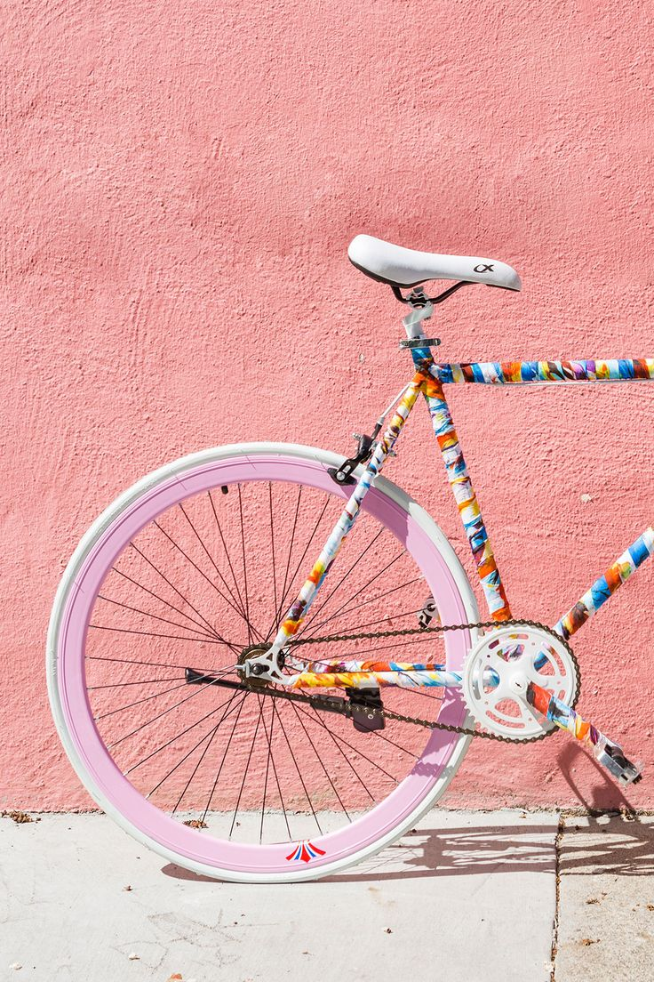 Update Your Bike With This Fabric Hack | Brit + Co