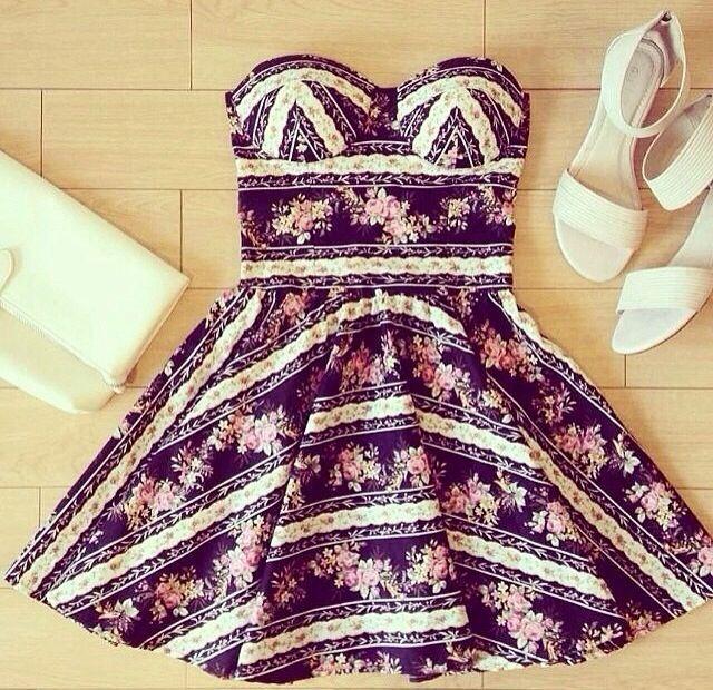 Daily New Fashion : Cute Summer Dress