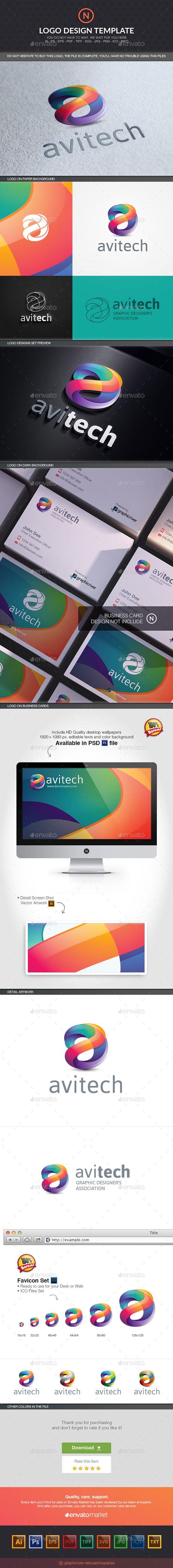 Logosmartz custom logo maker 5 0 review and download - Avi Tech Software Logo Design Template Vector Logotype Download It Here Http