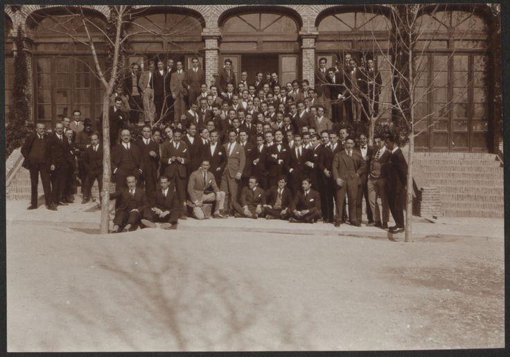 Fotografías Personales:  Retrato de grupo en la Residencia de Estudiantes. Copia de gelatina. http://aleph.csic.es/F?func=find-c&ccl_term=SYS%3D000125538&local_base=ARCHIVOS