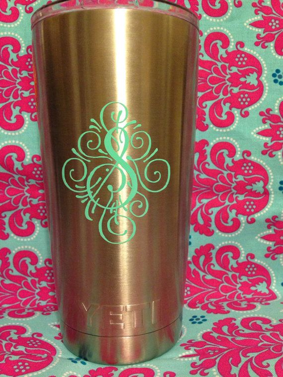 Yeti cup decals decal only cup available by levislittlestickers