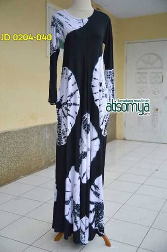 Umbrella Dress Tiedye with Zipper Black in white : Umbrella dress with zipper ( busui friendly) Material rayon lycra Allsize fit to xl Bust up to 100cm Length : 140cm Price : Rp.255.000  Order via Line : hijab_id Sms/whatsapp : +6283848377733 Bbm : 74AEF4FB  Format order : Nama, no hp, alamat lengkap, kode order, jumlah order, bank transfer bri/bca/mandiri  Maks payment 24 H (selebihnya dianggap cancel)  #hijabers #hijab #hijabcornerid #atisomya | atisomya
