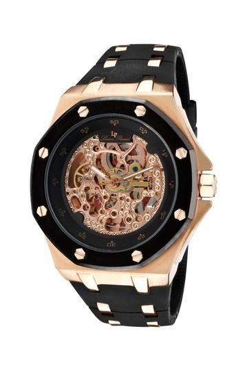 men's skeleton watch