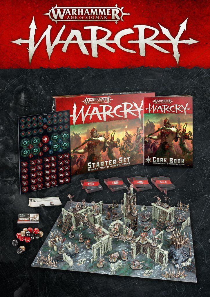 Warhammer War Cry Card Game The Hordes Of Darkness Starter Deck TCG CCG