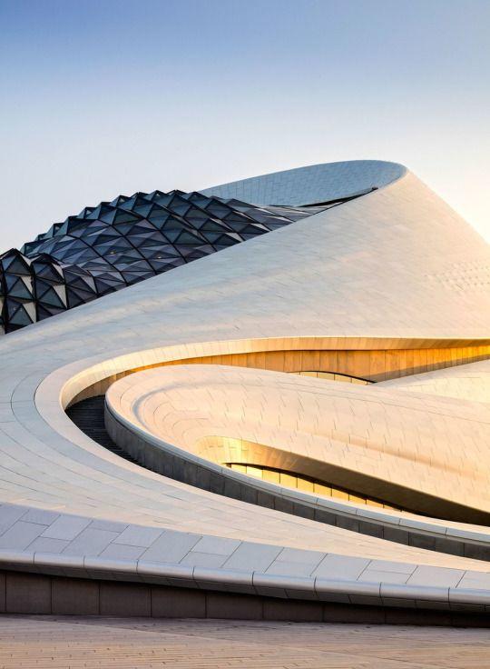 Harbin Opera House (exterior), Harbin, China, 2015. Designed by MAD Architects, China (2010).