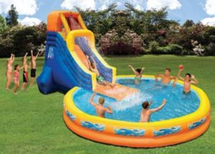 Cool Pools With Slides 12 best images about kids water slides, pools, summer fun, http