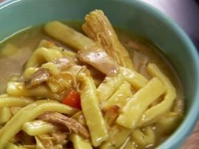 The Pioneer Woman's Chicken and Noodle recipe