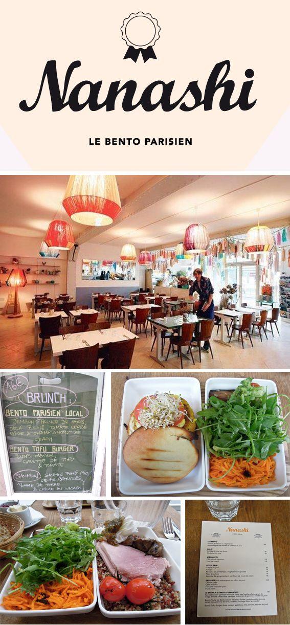 NANASHI, le Bento parisien - 57 rue Charlot, 75003 Paris, France - 09 60 00 25 59