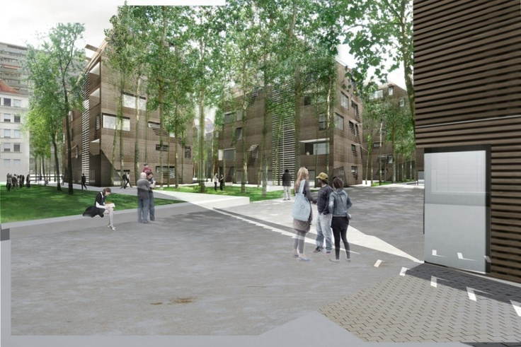 sustainable housing in Geneva, selected