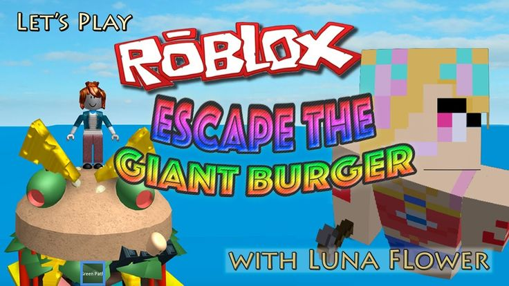 Let's Play Roblox Ep 4, Escape the Giant Burger