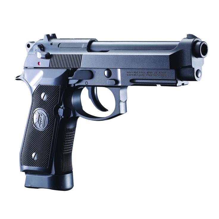 Réplica exacta, perfecta y preciosa de la Beretta 9mm. Tacto y handgrip como la real, ¡hecha por KJWORKS!. Es de gas, con un retroceso (blowback) muy bien conseguido. ¡PRUÉBALA! #airsoft #beretta #KJWORKS