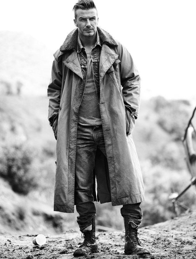 Style Pantry | Editorial Spread: A Grunge David Beckham