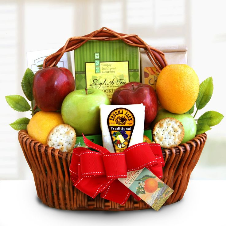 Garden of Fruit Gift Basket by California Delicious - 7310