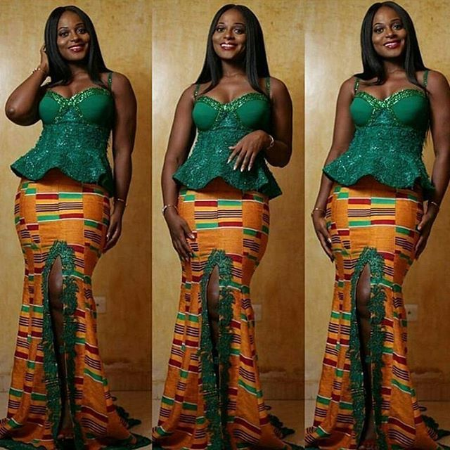 HOW TO COMBINE COLOURS FOR YOUR ANKARA, ASO EBI & LACE STYLES