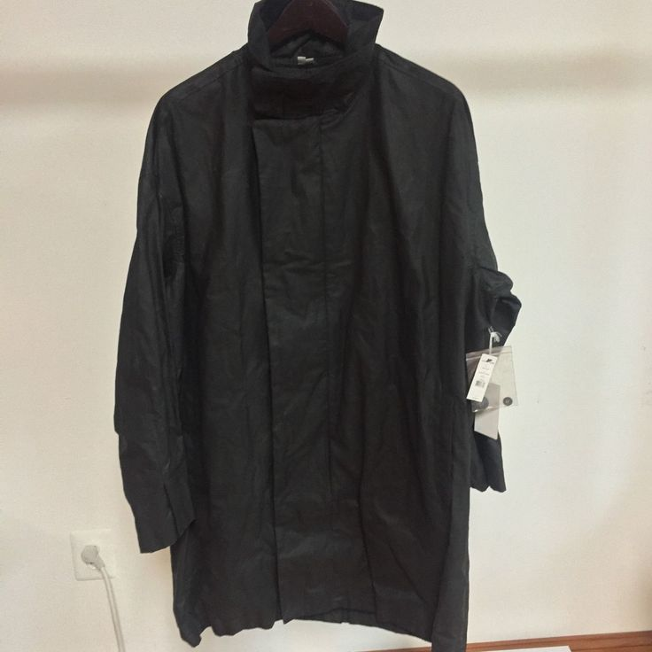 Lena oversized cocoon coat black ebay