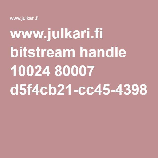 www.julkari.fi bitstream handle 10024 80007 d5f4cb21-cc45-4398-9679-8207945705d7.pdf?sequence=1