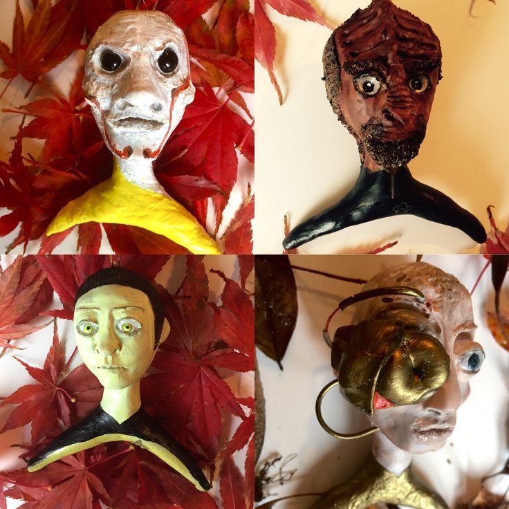 StarTrek ornaments by LisaRoxette