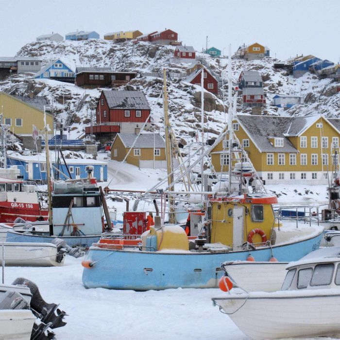 Denmark's government is being urged to adopt an Australian solution for asylum seekers, including sending them to remote north-eastern Greenland.