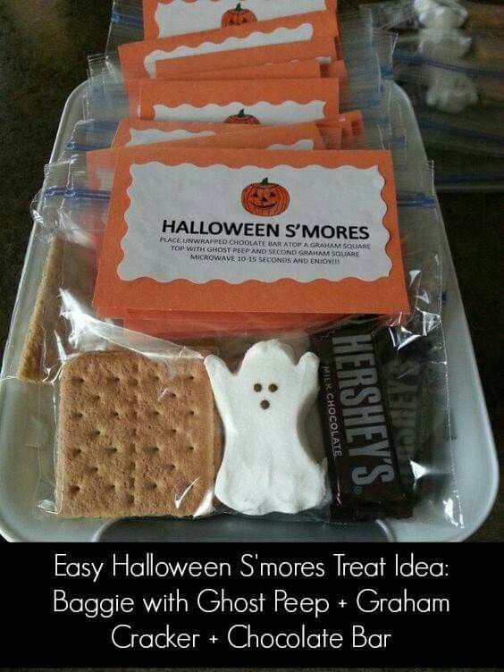 Cute S 39 Mores Treat Bag Halloween Pinterest Treat