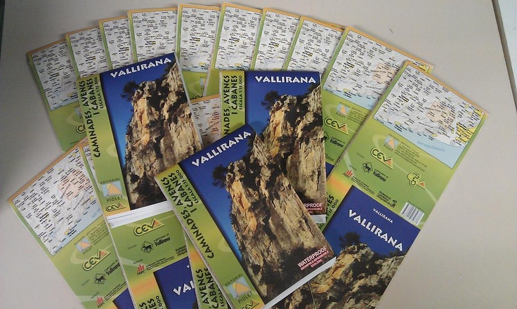 "New topo-map ""VALLIRANA"" waterproof and ecologic"