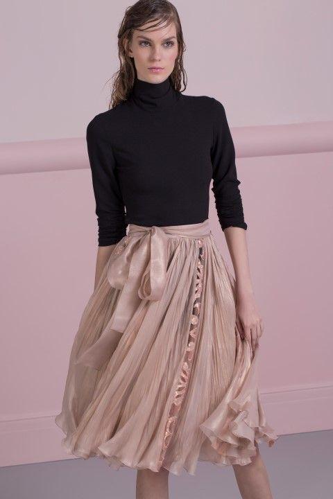ALY bodysuit and ABRA skirt