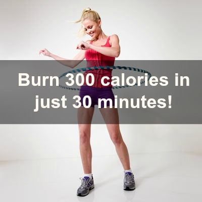 Hula-hooping for 30 minutes can burn up to 300 calories! #workout #fitness | Health.com