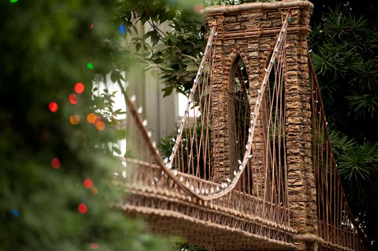 The Holiday Train Show at the New York Botanical Garden