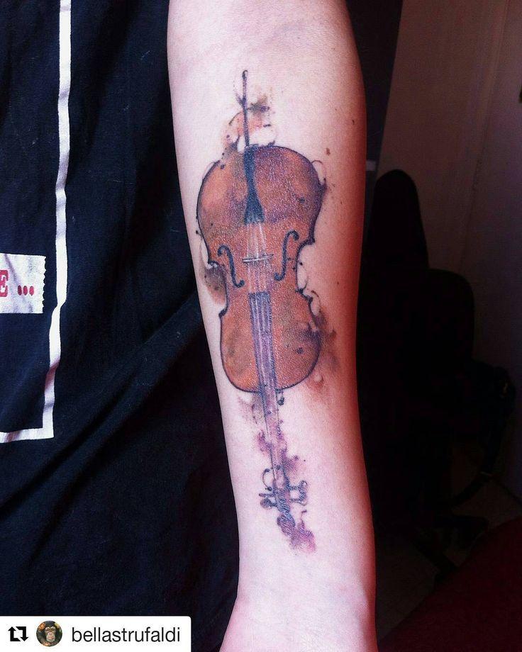 Cello tattoo ♥♥♥ #Cello #Music #Art …