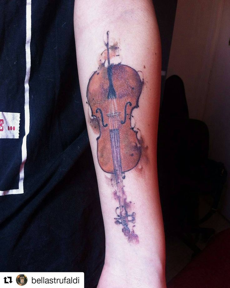 Cello tattoo ♥♥♥ #Cello #Music #Art                              …