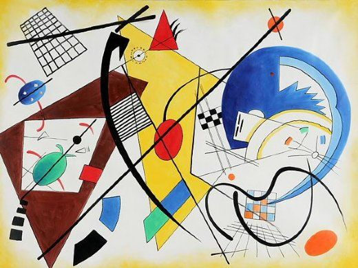 137 best images about Kandinsky on Pinterest | Abstract art ...