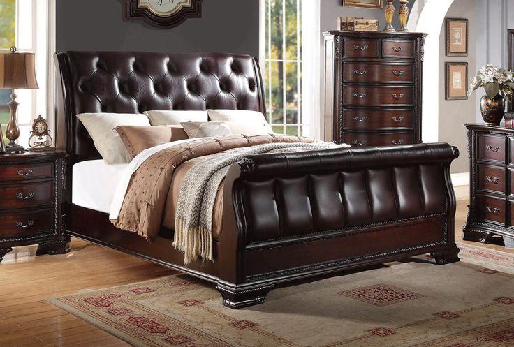 best 25 cherry sleigh bed ideas on pinterest bedroom. Black Bedroom Furniture Sets. Home Design Ideas