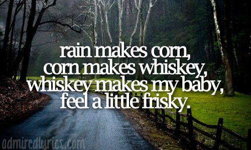 Rain Is A Good Thing. Luke Bryan