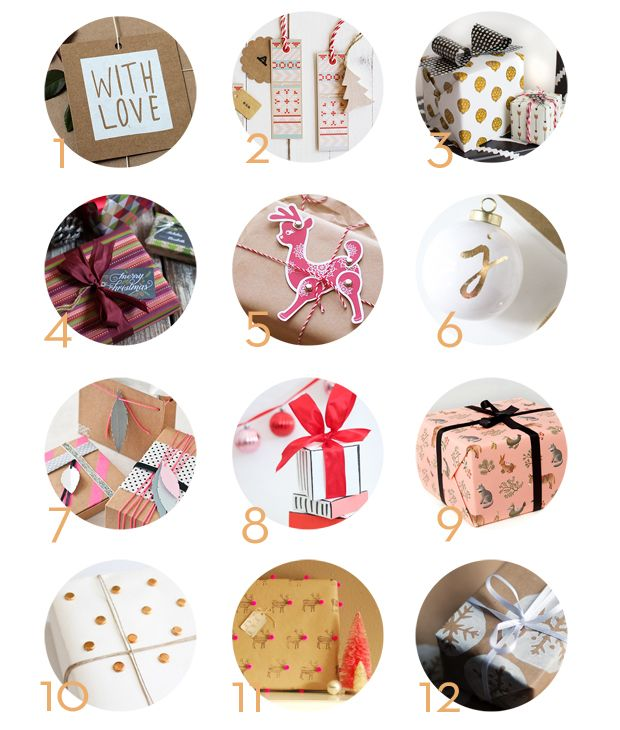 12 Days of Gift Wrap Inspiration