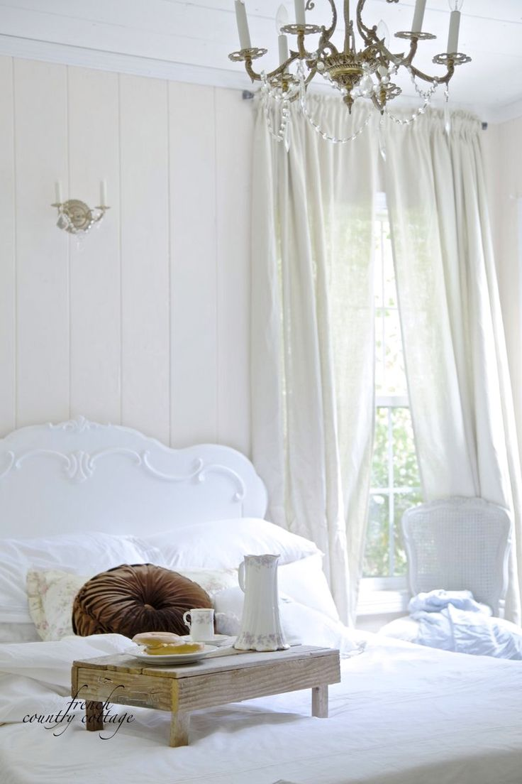 French country bedroom white - French Country Cottage