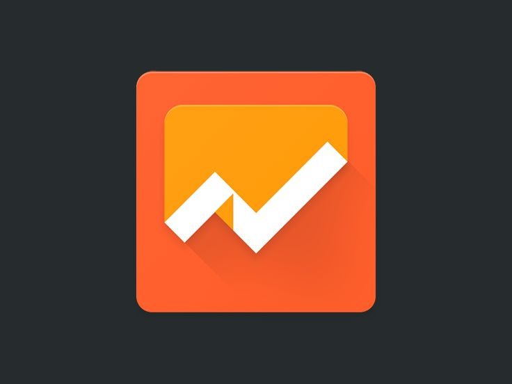 Google Analytics Android Icon by @maxKeppeler