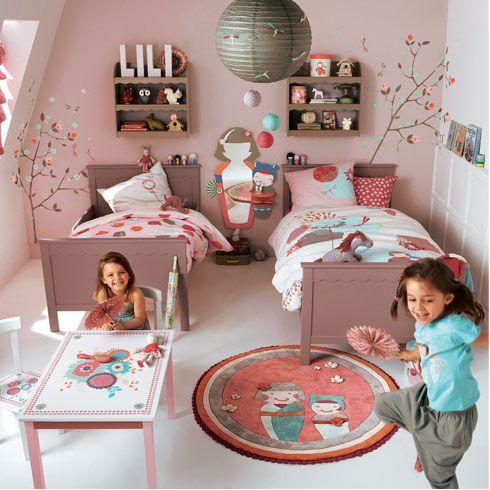 Les 164 meilleures images propos de chambre enfant sur pinterest - Kinderkamer coloree ...